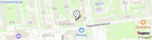 ЗАГС г. Пскова на карте Пскова