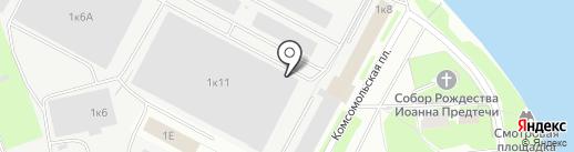 Регион Полюс на карте Пскова