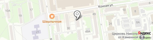 Спецсвязь Экспресс на карте Пскова