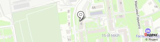 Смайлик на карте Пскова