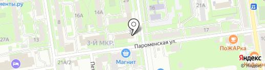 Все для ПК Сервис на карте Пскова
