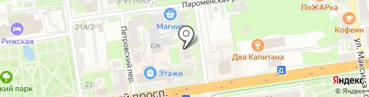 Зверье Мое на карте Пскова