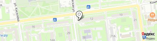 Диана на карте Пскова