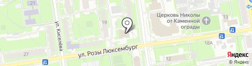 Псковская Лента Новостей на карте Пскова