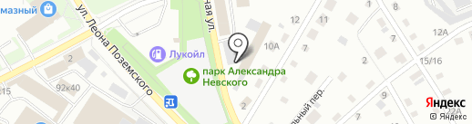 Комбикорма на карте Пскова