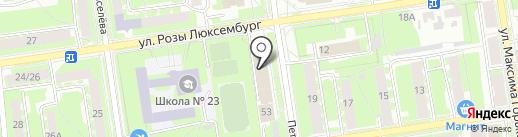 Отделение Пенсионного фонда РФ по Псковской области на карте Пскова
