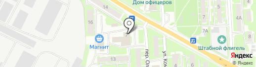 УТ ЛЕНВО Псков на карте Пскова