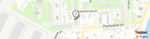 Лада087 на карте Пскова