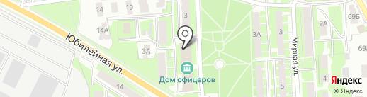 Парикмахерская на карте Пскова