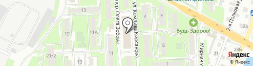 Почтовое отделение №2 на карте Пскова