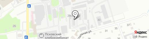 Кузов 60 на карте Пскова