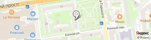 Альфа Плюс на карте Пскова