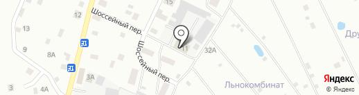 Энергия на карте Пскова