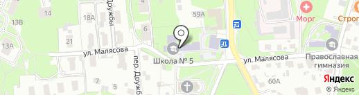 Избирательный участок №31 на карте Пскова