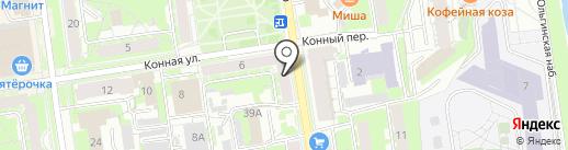 МедТехСервис на карте Пскова