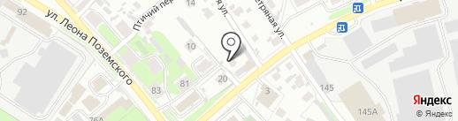 На горке на карте Пскова
