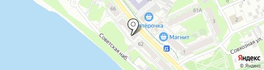 Рено на карте Пскова