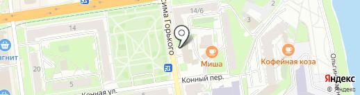 Пожарная часть №8 на карте Пскова