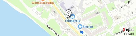 Сантех 60 на карте Пскова