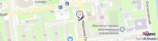 Магазин автозапчастей для иномарок на карте Пскова