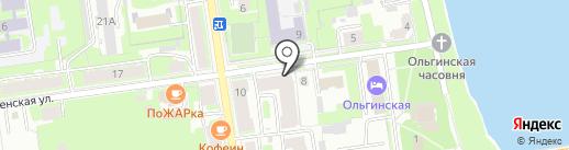 Псков-Аудит, ЗАО на карте Пскова