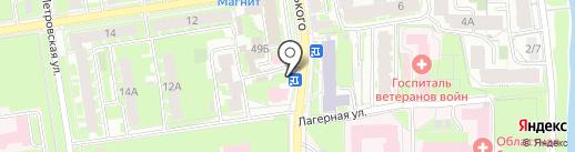 Роспечать на карте Пскова