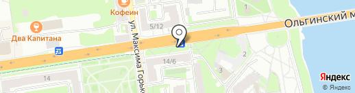 Пышкин дом на карте Пскова
