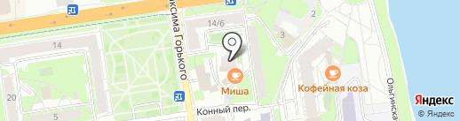 НИК на карте Пскова
