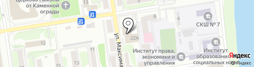 Bingo на карте Пскова