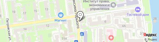 Studio 420 на карте Пскова
