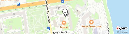 Арт Лайф на карте Пскова