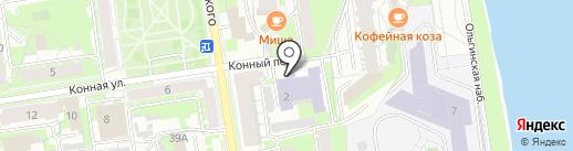 Барон на карте Пскова