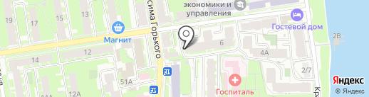ЭнергоВатт на карте Пскова