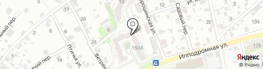 Управление капитального строительства, МУП на карте Пскова