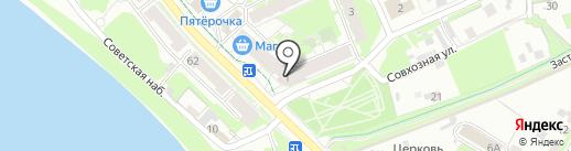 РОУТ60 на карте Пскова