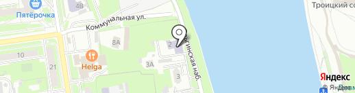 Радуга на карте Пскова