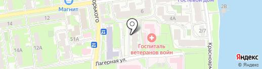 Медлогистик на карте Пскова