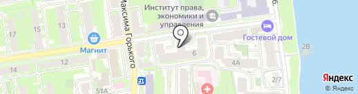 Нотариус Николаева В.К. на карте Пскова