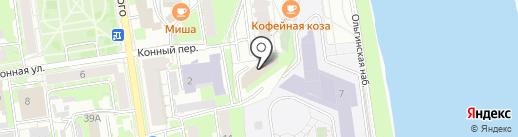Финтраст на карте Пскова