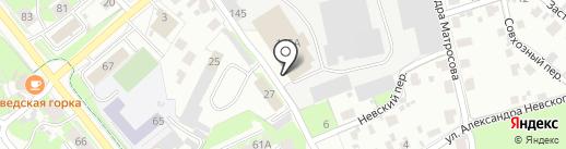 Алкомаркет на карте Пскова