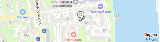 7 небо на карте Пскова