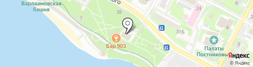 903 на карте Пскова