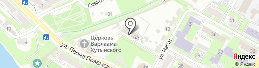 Социально-реабилитационный центр для несовершеннолетних на карте Пскова