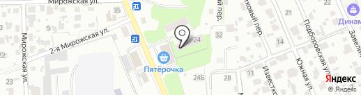 Спецстрой на карте Пскова