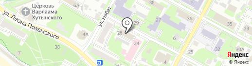 Собрание депутатов Псковского района на карте Пскова
