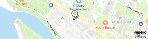 МебельГрад на карте Пскова