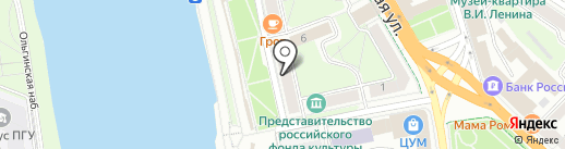 Биотека на карте Пскова