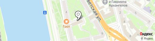 АСПО на карте Пскова