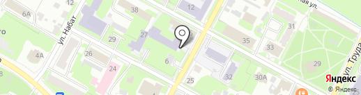 Специальная (коррекционная) общеобразовательная школа №6 на карте Пскова