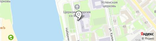 Rock Studio Pskov на карте Пскова